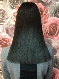 Стрижка и ботокс для волос