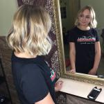 Бондинг на светлые волосы