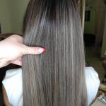 Airtouch мелирование длинных волос