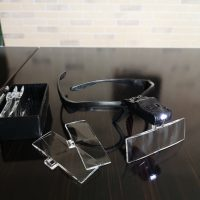 Защитные очки для мастера татуажа с увеличительным стеклом