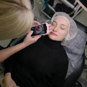 Обучение перманентный макияж