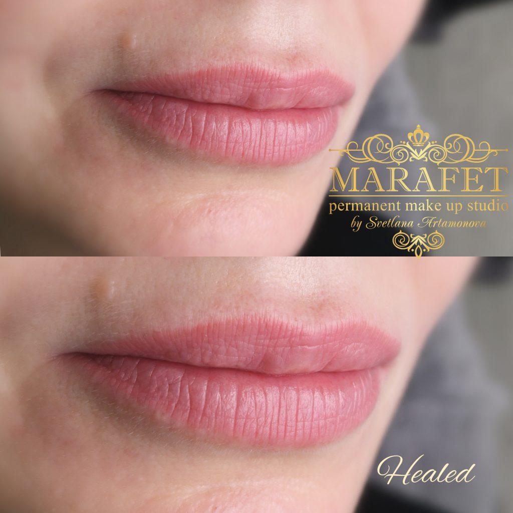 перманентный макияж губ мастер