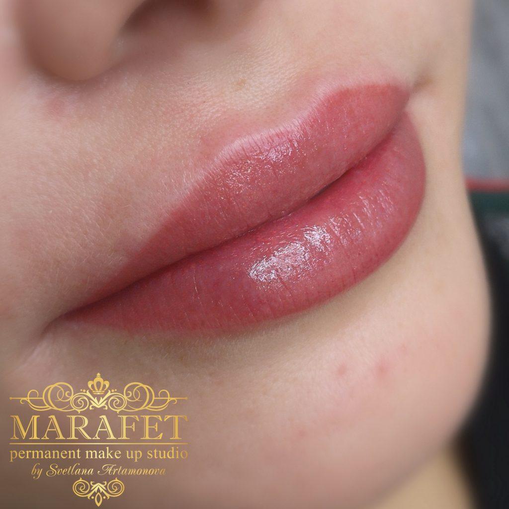 перманентный макияж губ во владимире