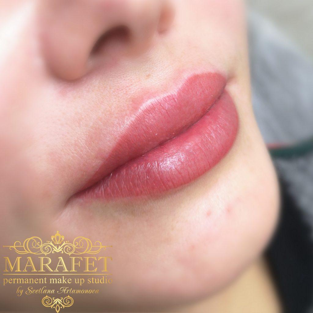 перманентный макияж губ цена